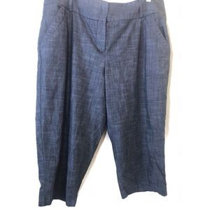 Charcoal Gray Capri Pants